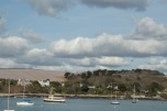 Landscape of Falmouth harbour