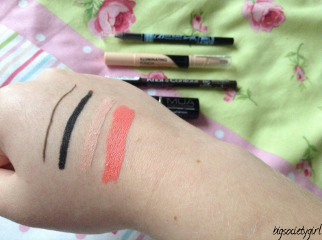 Superdrug-haul-swatches